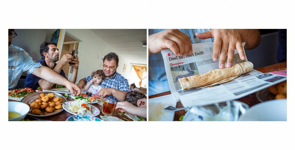 """Fotoproject """"Refugee faced - Rebuilding identity in asylum"""""""